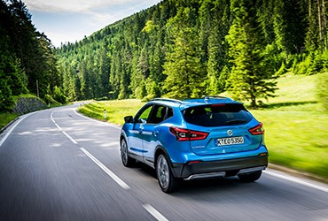 Performance The Nissan QASHQAI not only looks slick, it delivers dynamic ride and handling. With its 2.0L 106kW 200Nm petrol engine with a CVT automatic tranmission.