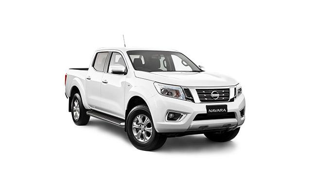 Nissan Navara ST Finished in White