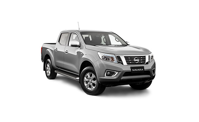 Nissan Navara ST Finished in Sheer Silver