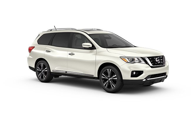 gazley nissan Pathfinder Ti finished in Ivory Pearl