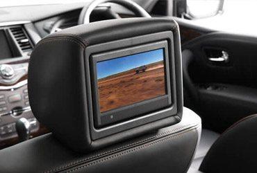 nissan patrol backseat screens