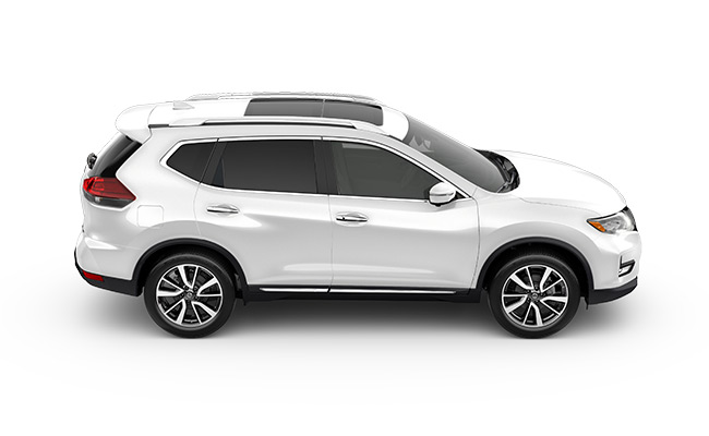 nissan X-Trail Ti finished in Ivory Pearl