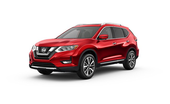 nissan X-Trail Ti finished in Ruby Red