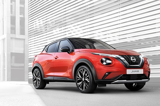 BIGGER. BOLDER. BETTER. Every detail of the all new Nissan JUKE's exterior is made to be admired. Its dynamic, sports-inspired design was crafted to turn heads and catch the eye from any angle. Wherever you travel, make a statement.
