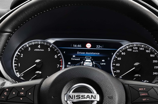 ADVANCED DRIVE-ASSIST™ DISPLAY More Action. Less Distraction. The JUKE's Advanced Drive-Assist Display makes essential information available whenever you need it, so you can focus on driving.